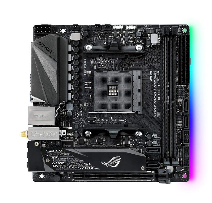 ASUS ROG STRIX B450-I GAMING - mini ATX - Socket AM4 - AMD B450