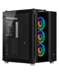 Corsair  Crystal Series 680X RGB E-ATX High Airflow Tempered Glass Smart Case - Black