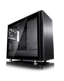 Fractal Design Define R6 USB-C Blackout – TG - eATX
