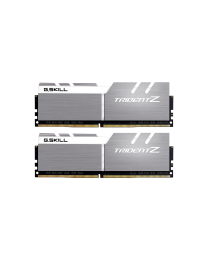 G.SKILL Trident Z geheugen - 32 GB : 2 x 16 GB - CL17 - DDR4 - 3600 MHz - Silver/White