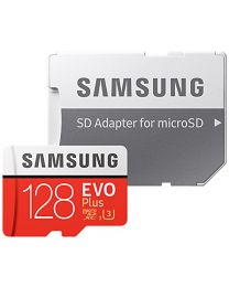 Samsung EVO Plus MB-MC128GA - 128 GB - microSDXC-naar-SD-adapter inbegrepen