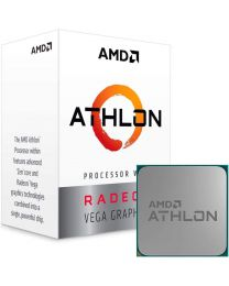 AMD Athlon 3000G / 3.5 GHz processor - 4-core - Radeon Vega 3