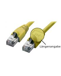 Tecline Patchkabel S-STP (PIMF) Cat6 50cm - Geel