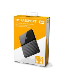 "WD My Passport WDBYFT0040BBK - 4 TB - 2.5"" - USB 3.0"