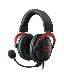 Kingston HyperX Cloud II Headset - Virtual 7.1 Surround Sound - Red