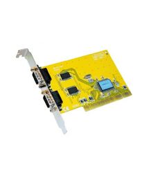 Tecline 2-Port Serial RS232 PCI Controller 9-pin