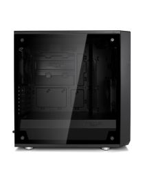 Fractal Design Meshify C Mini – Dark TG - micro ATX - Zijpaneel Tempered Glass