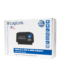 LogiLink USB 3.0 to IDE & SATA Adapter with OTB