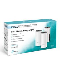 TP-Link DECO M4 - Wifi-systeem (3 routers) - 802.11a/b/g/n/ac - Dual Band