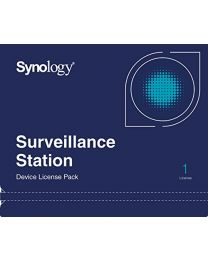Synology Camera License Pack - 1 cameralicentie - E-mail