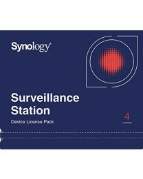 Synology Camera License Pack - 4 cameralicenties - E-mail