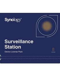 Synology Camera License Pack - 8 cameralicenties - E-mail