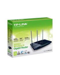 TP-Link TL-WR1043ND - draadloze router - 802.11b/g/n (draft 2.0)