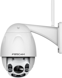 Foscam FI9928P - Wi-Fi - Outdoor - PnP - Night vision - Full-HD PTZ Dome - 2.0 Mpixel