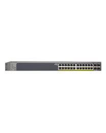 NETGEAR ProSAFE 24-port 1000base-T Gigabit PoE Smart Switch - GS728TP