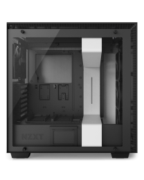 NZXT H700i Mid-Tower with Lighting and Fan Control EATX - Tempered Glass - Matte White
