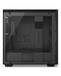 NZXT H700i Mid-Tower with Lighting and Fan Control EATX - Tempered Glass - Matte Black