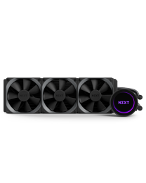 NZXT Kraken X72 CAM-powered 360mm AIO Cooler with RGB - (Includes AM4 Bracket)