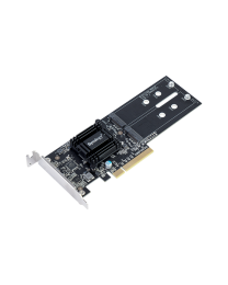 Synology PCIe M.2 SSD Adapter M2D18 Card for 2x M.2 SSD