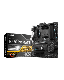 MSI B350 PC MATE - ATX - Socket AM4 - AMD B350