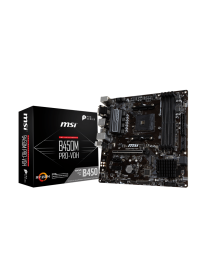 MSI B450M PRO-VDH V2 - micro ATX - Socket AM4 - AMD B450