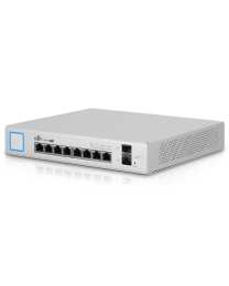 Ubiquiti UniFi Switch 8 (150W) - Managed PoE+ Gigabit Switch with SFP