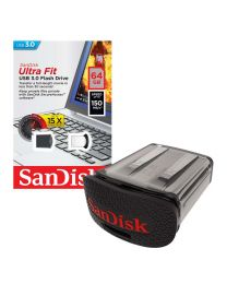 SanDisk Ultra Fit USB 3.0 Flash Drive - USB-flashstation - 64 GB